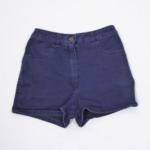 Brandy Melville High Waist Denim Shorts Stretchy